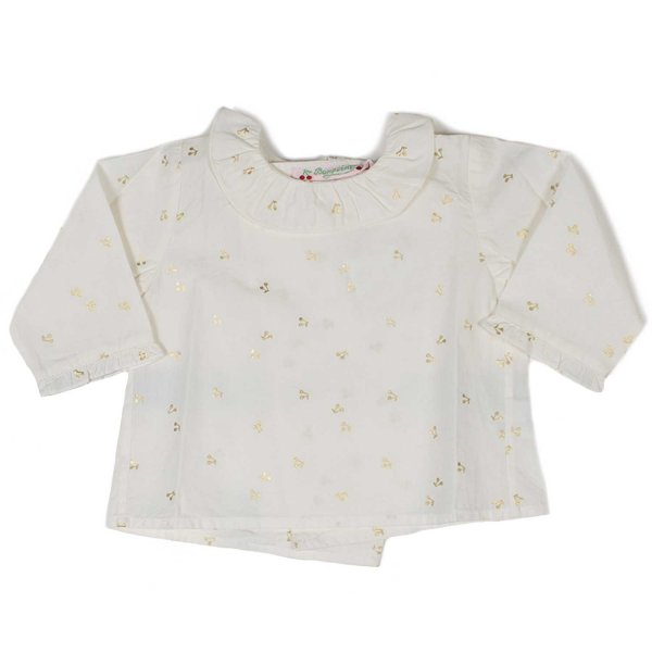 Bonpoint - T-SHIRT BABY COLOR PANNA