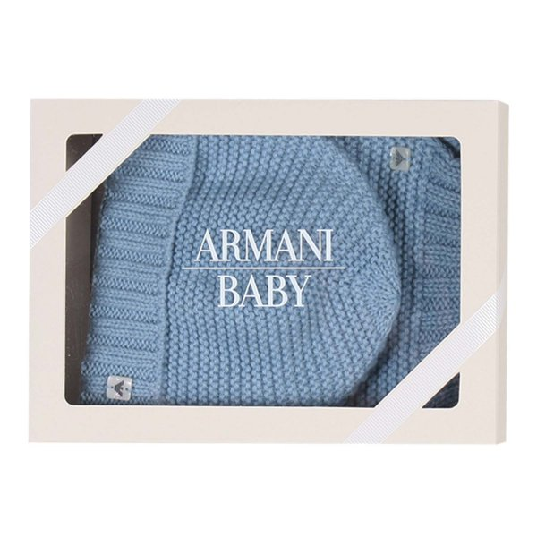 Armani Junior - SET CAPPELLO E SCIARPA