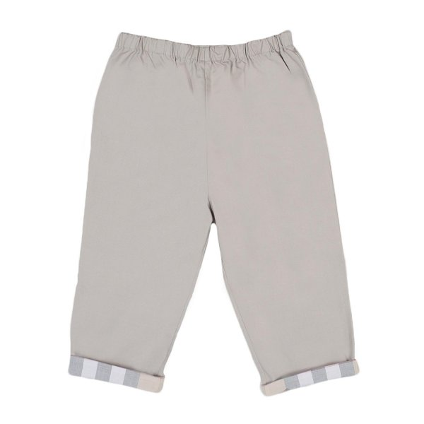 Burberry - PANTALONE BABY BEIGE-CHECK