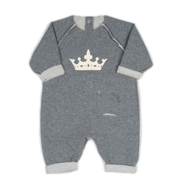 Dreamers - TUTINA JERSEY GRIGIA BABY