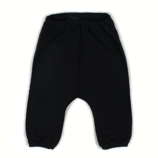 Frugoo - PANTALONE BABY COLOR CARBONE