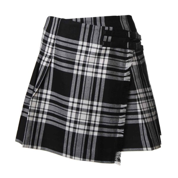 Burberry - Kilt in lana motivo check