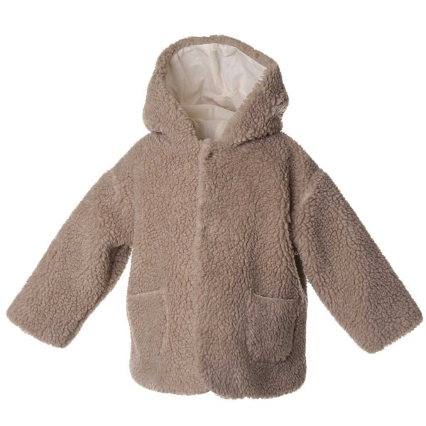 Babe & Tess - CAPPOTTO BABY ORSETTO BEIGE