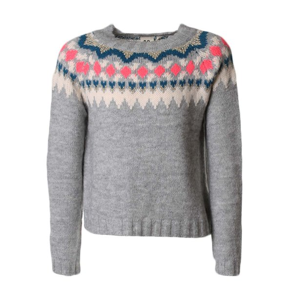 American Outfitters - PULLOVER GIRL GRIGIO