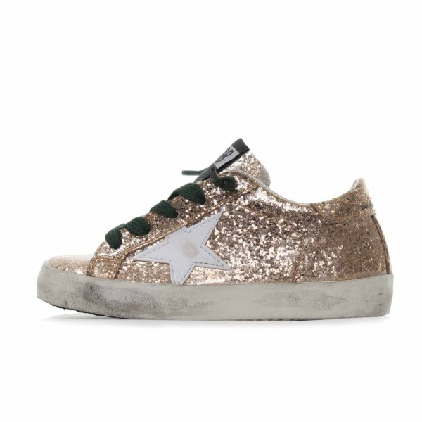 Golden Goose - Sneaker Baby Superstar Oro