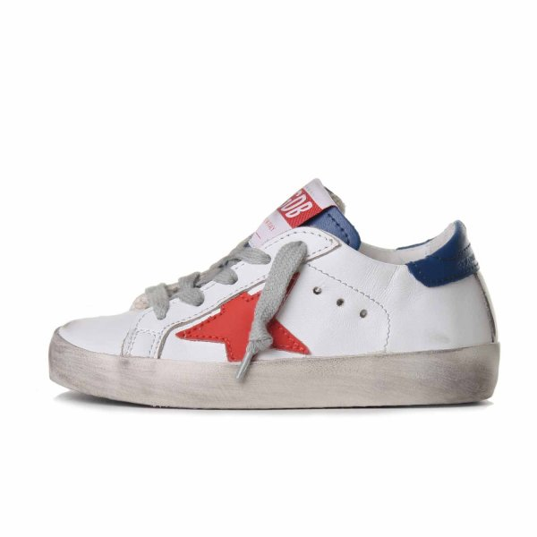 Golden Goose - Sneaker Baby Superstar Stella in pelle