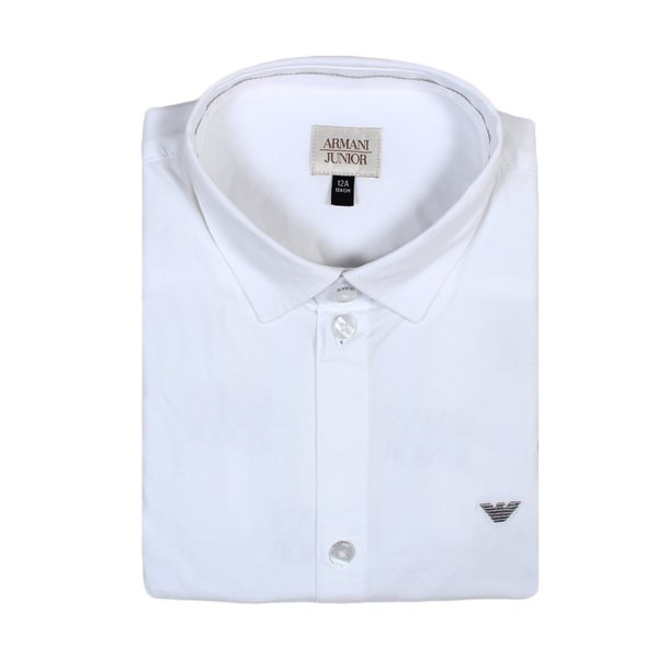 Armani Junior - CAMICIA BIANCA JR E TEEN