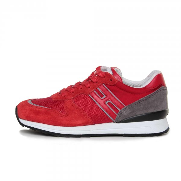 Hogan Rebel - SNEAKER R261 JUNIOR ROSSA