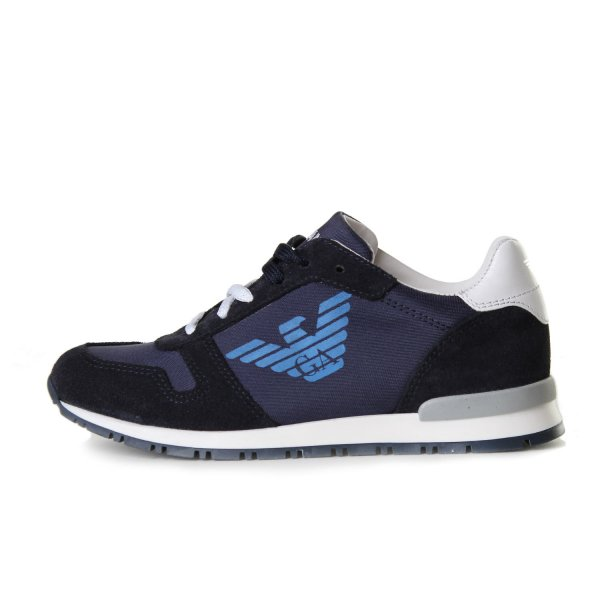Armani Junior - SNEAKER BLU JUNIOR