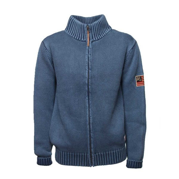 American Outfitters - CARDIGAN BLU SCURO