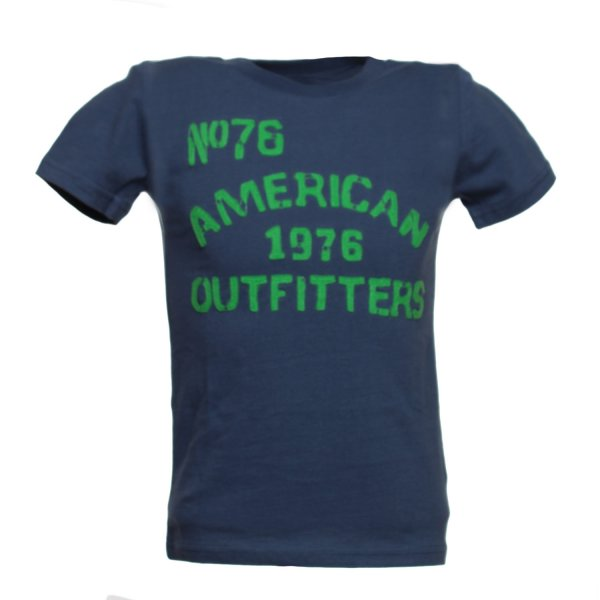 American Outfitters - T-SHIRT BOY BLU NAVY