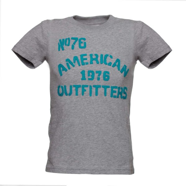 American Outfitters - T-SHIRT GRIGIA JR