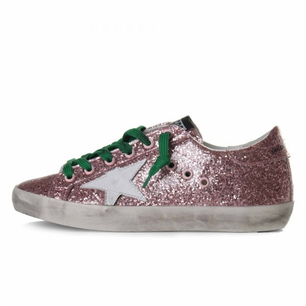 Golden Goose - SUPERSTAR ROSA GLITTER