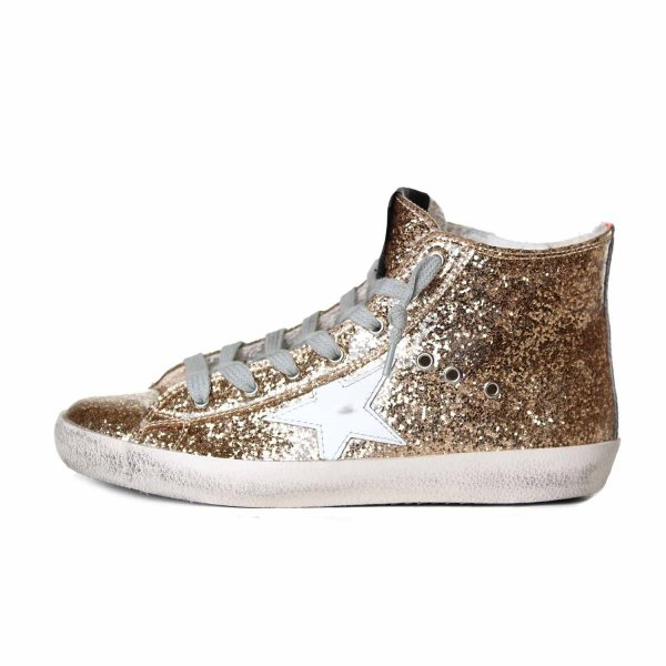 Golden Goose - FRANCY ORO GLITTER JR