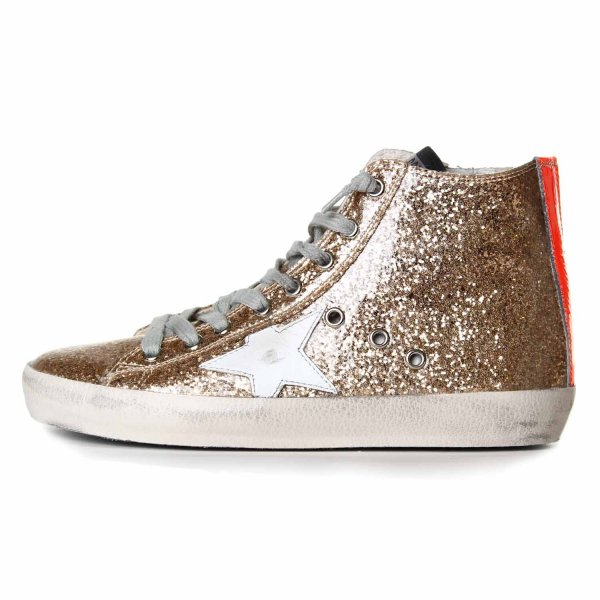 Golden Goose - FRANCY ORO GLITTER TEEN