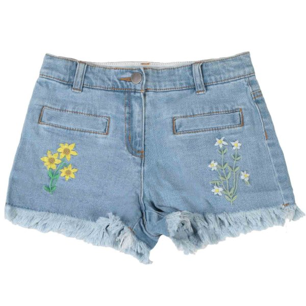 Stella Mccartney - SHORTS DENIM BAMBINA